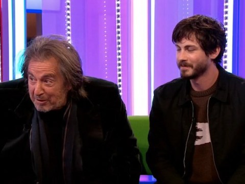 Al Pacino tries to 'walk off' set during awkward interview as he forgets what TV show he is on