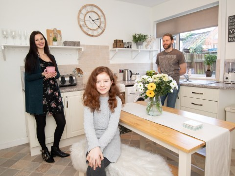 What I Rent: Kelly, Kieran and Grace, £625 a month for a three-bedroom house in Hinckley, Leicestershire