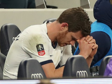 Jan Vertonghen's agent speaks out on Tottenham future after emotional reaction to being subbed