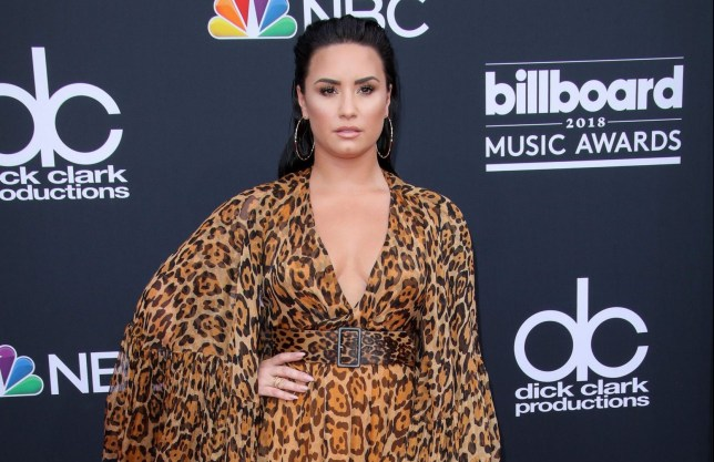 Mandatory Credit: Photo by Matt Baron/REX (9686567cn) Demi Lovato Billboard Music Awards, Arrivals, Las Vegas, USA - 20 May 2018 WEARING DIOR SAME OUTFIT AS CATWALK MODEL *6055428h