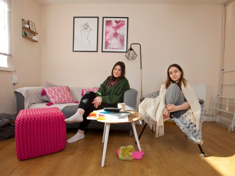 What I Rent: Jemma and Georgia, £800 each a month to share a two-bedroom flat in Merton