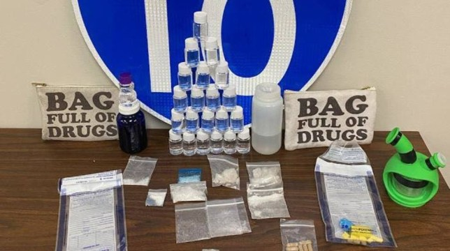 You won't guess what police found in this 'bag full of drugs'