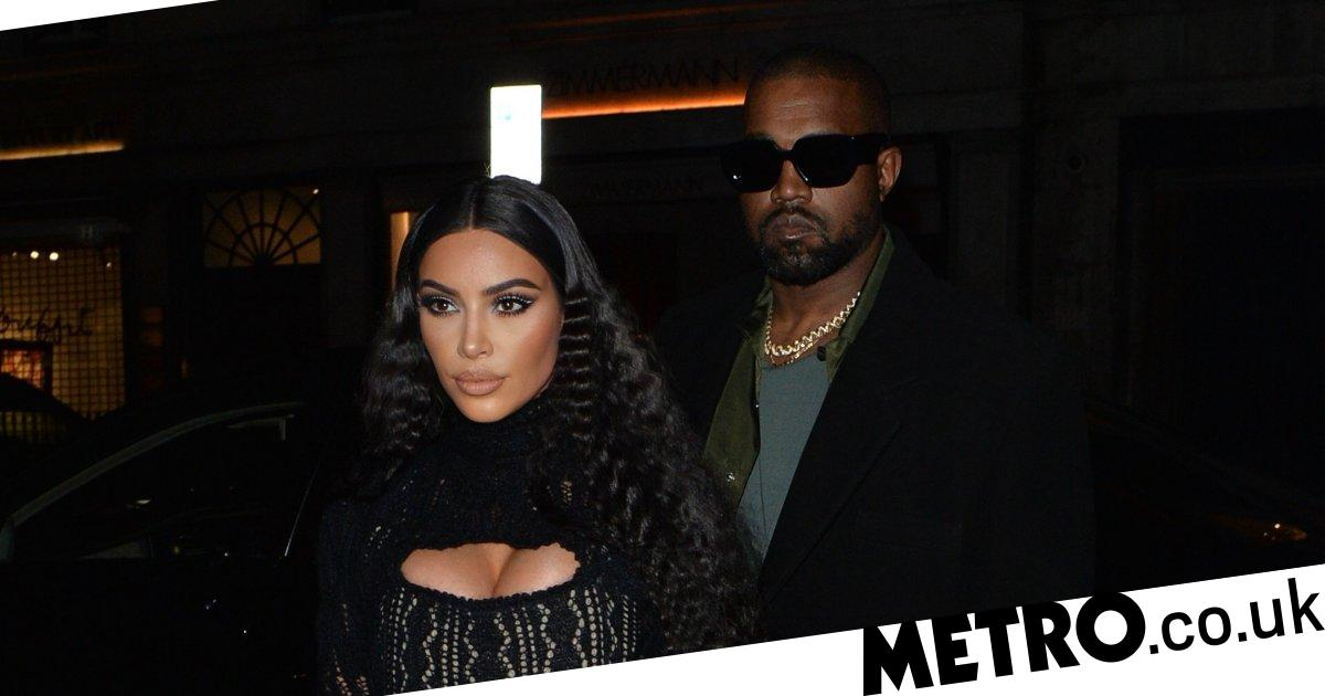Kim Kardashian and Kanye West party it up in London
