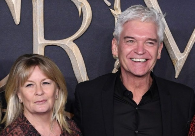 phillip schofield and wife stephanie lowe