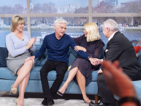 Eamonn Holmes comforts Phillip Schofield on This Morning after presenter comes out as gay