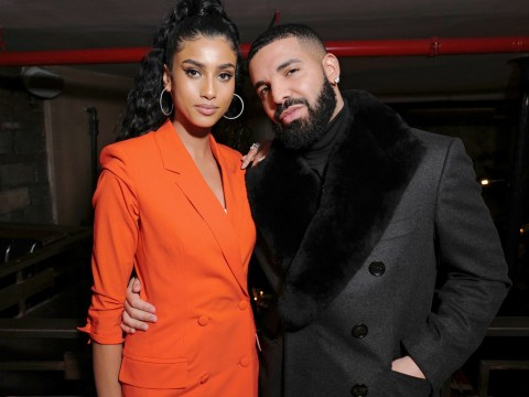 Drake gets cosy with model Imaan Hammam at New York Fashion Week sparking dating rumours