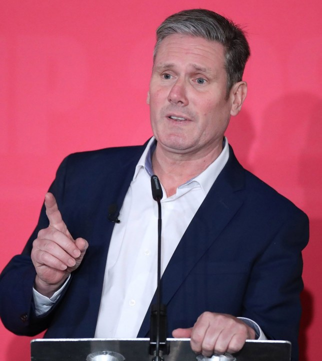 File photo dated 18/1/2020 of Labour leadership contender Sir Keir Starmer who has cancelled his campaign events this weekend because his mother-in-law remains in a critical condition in intensive care. PA Photo. Issue date: Saturday February 8, 2020. Shadow cabinet member Sir Keir was due to take part in hustings with other candidates in the battle to succeed Jeremy Corbyn on Saturday and Sunday. See PA story POLITICS Labour. Photo credit should read: Danny Lawson/PA Wire