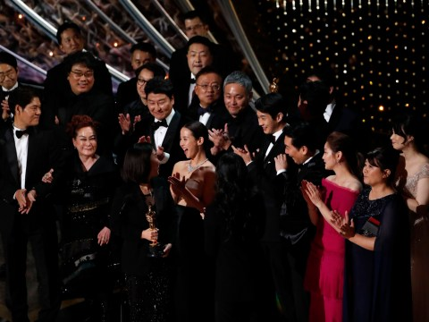 Has a foreign language film ever won the best picture Oscar as Parasite takes the award?
