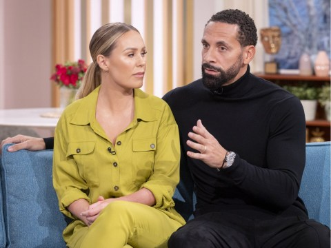 Rio Ferdinand recalls 'frank conversations' with his own father who was concerned over Kate Wright relationship