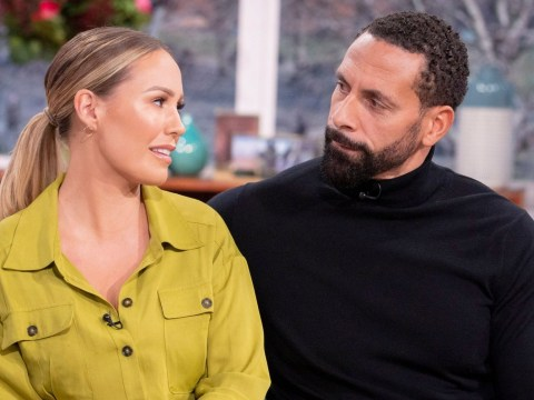 How old is Rio Ferdinand, when did his wife Rebecca die and how long has he been married to Kate Ferdinand?