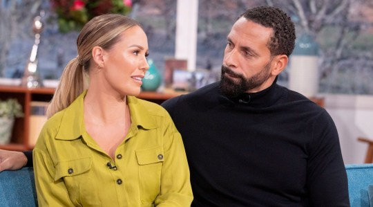 Rio Ferdinand and Kate Ferdinand