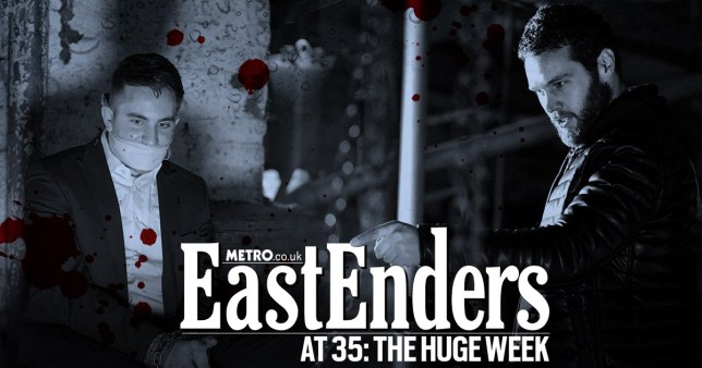 WARNING: Embargoed for publication until 00:00:01 on 04/02/2020 - Programme Name: EastEnders - January - March 2020 - TX: 11/02/2020 - Episode: EastEnders - January - March - 2020 - 6078 (No. 6078) - Picture Shows: **NOT FOR USE PRE-TX WITHOUT PRIOR APPROVAL** Callum Highway (TONY CLAY), Keanu Taylor (DANNY WALTERS) - (C) BBC - Photographer: Kieron McCarron/Jack Barnes