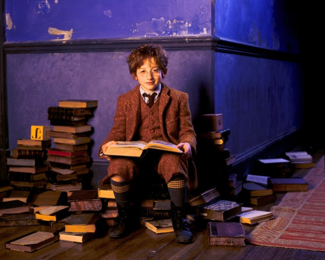 Raphael Coleman in a scene from Nanny McPhee in 2005