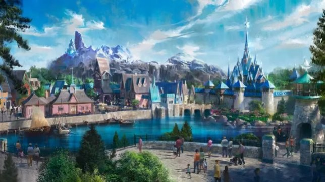 'Frozen' Land Coming To Disneyland Paris - and leaked blueprints show what it's going to look like