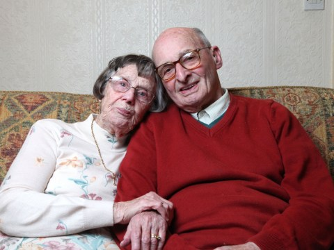 Elderly couple who've been married for 69 years share their tips for keeping the spark alive on Valentine's Day