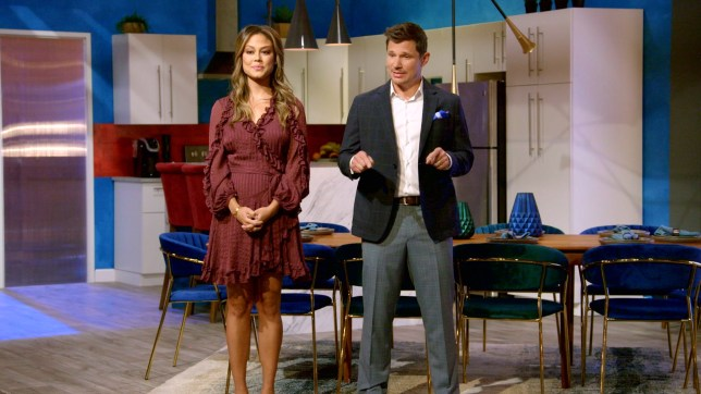 Love is blind presenters nick and vanessa lachey