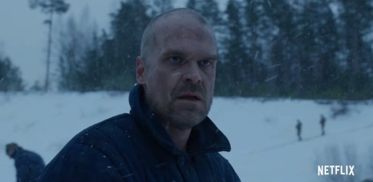 Stranger Things 4 trailer confirms Hopper is alive (Picture: Netflix)