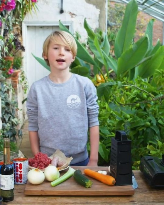 Jamie Oliver shares video of son Buddy