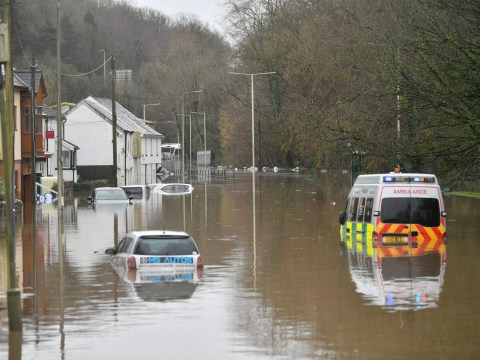 What flood warnings are in place and which roads are closed as Storm Dennis continues to batter the UK?