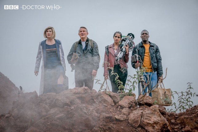 Doctor Who first look at finale spells trouble for Ryan