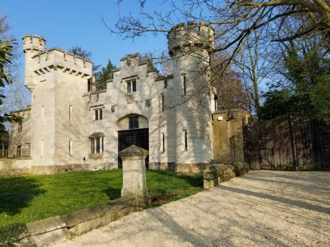 Huge castle on Airbnb available for just ?13 per person per night in Wiltshire, near Bath.