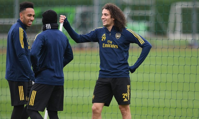 Matteo Guendouzi was axed from the Arsenal squad ahead of Sunday's win over Newcastle