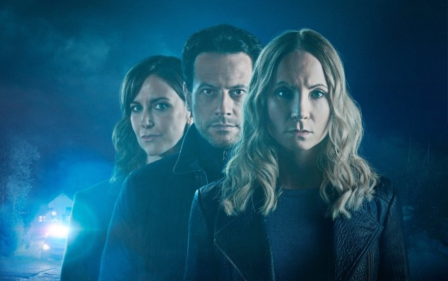 TWO BROTHERS PICTURES FOR ITV LIAR SERIES 2 GENERIC Pictured:JOANNE FROGGATT as Laura Nielson, IOAN GRUFFUDD as Andrew Earlham and KATHERINE KELLY as DI Karen Renton. This image is the copyright of Itv and is only to be used in relation to Liar series 2.