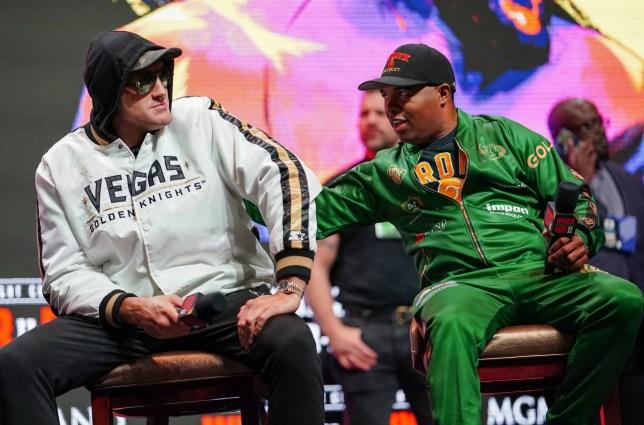 Tyson Fury and SugarHill Steward