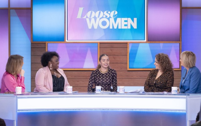 Editorial use only Mandatory Credit: Photo by Ken McKay/ITV/REX (10562269ao) Kaye Adams, Judi Love, Ella Eyre, Nadia Sawalha and Jane Moore 'Loose Women' TV show, London, UK - 20 Feb 2020 GUEST: ELLA EYRE ON LEARNING HOW TO DEAL WITH GRIEF Singer-songwriter Ella Eyre is most known for her hits including ?Waiting All Night?, ?Came Here for Love? and ?I Just Got Paid?. At just 25 years old, Ella already has two MOBO Awards, a Brit Award, three platinum selling singles and a top 5 album. The pop superstar has been relatively quiet for the last couple of years but now she?s back and feeling better than ever. Today, Ella joins the panel to talk about her return to the stage, how she has learnt to cope with stress and how a life-changing trip to Jamaica helped her overcome her demons.