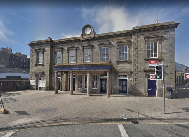 Man fighting for life after being pushed down train station stairs Haymarket Station