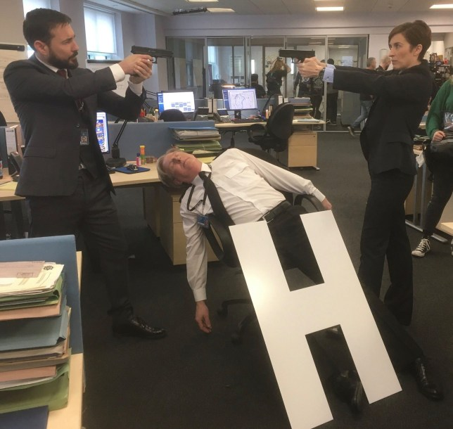 Line of Duty series 6 photo - Vicky McClure and Martin Compston face off over 'H'