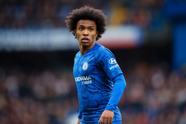 Willian has been offered a new two-year deal by Chelsea