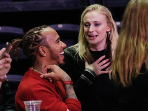 Lewis Hamilton and Sophie Turner live it up at Jonas Brothers gig in Paris