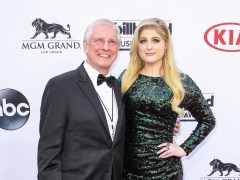 Meghan Trainor's dad 'struck by a car in alleged hit and run'