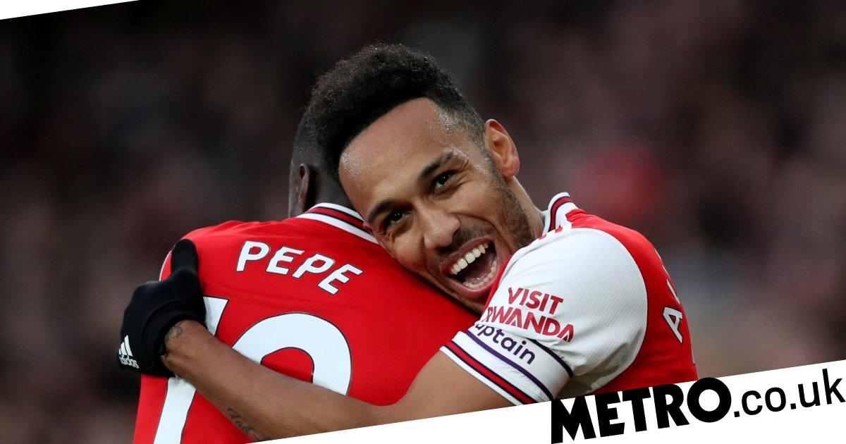 Gary Neville compares Pierre-Emerick Aubameyang to Arsenal legend Thierry Henry after Everton strike - metro