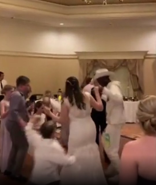 Lil Nas X crashes wedding at Disney World