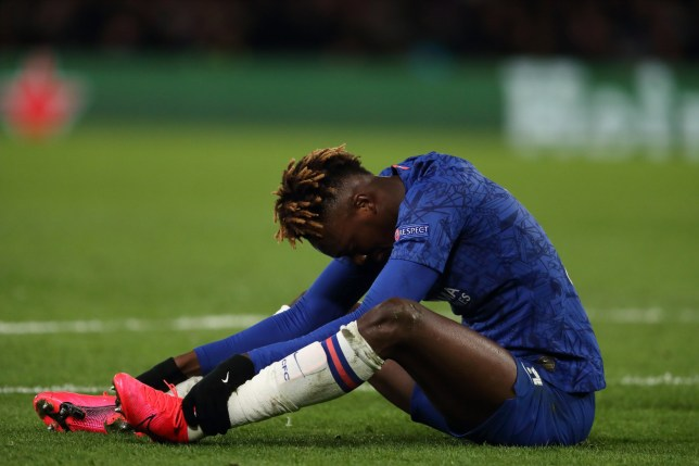 Tammy Abraham potentially faces a new injury setback for Chelsea