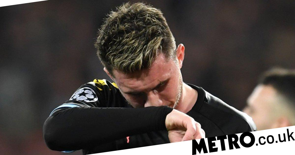 Laporte close to tears after being forced off in Man City's clash vs Real Madrid