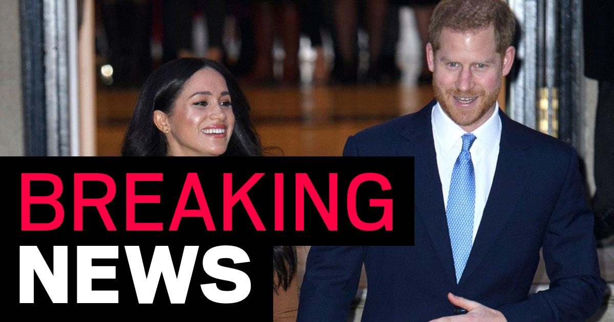 Canada will not pay for Harry and Meghan's security costs when they quit - metro