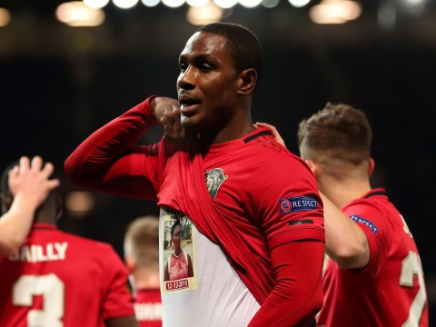 The tragic story behind Odion Ighalo's celebration after goal on full Manchester United debut