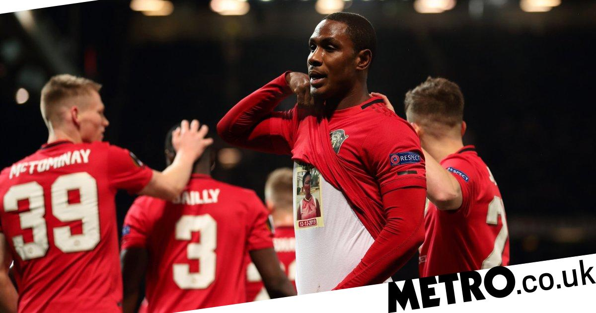 The tragic story behind Ighalo's celebration after goal on full Man Utd debut