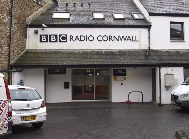 BBC Radio Cornwall, Truro, Cornwall, UK. (Photo by: Education Images/Universal Images Group via Getty Images)
