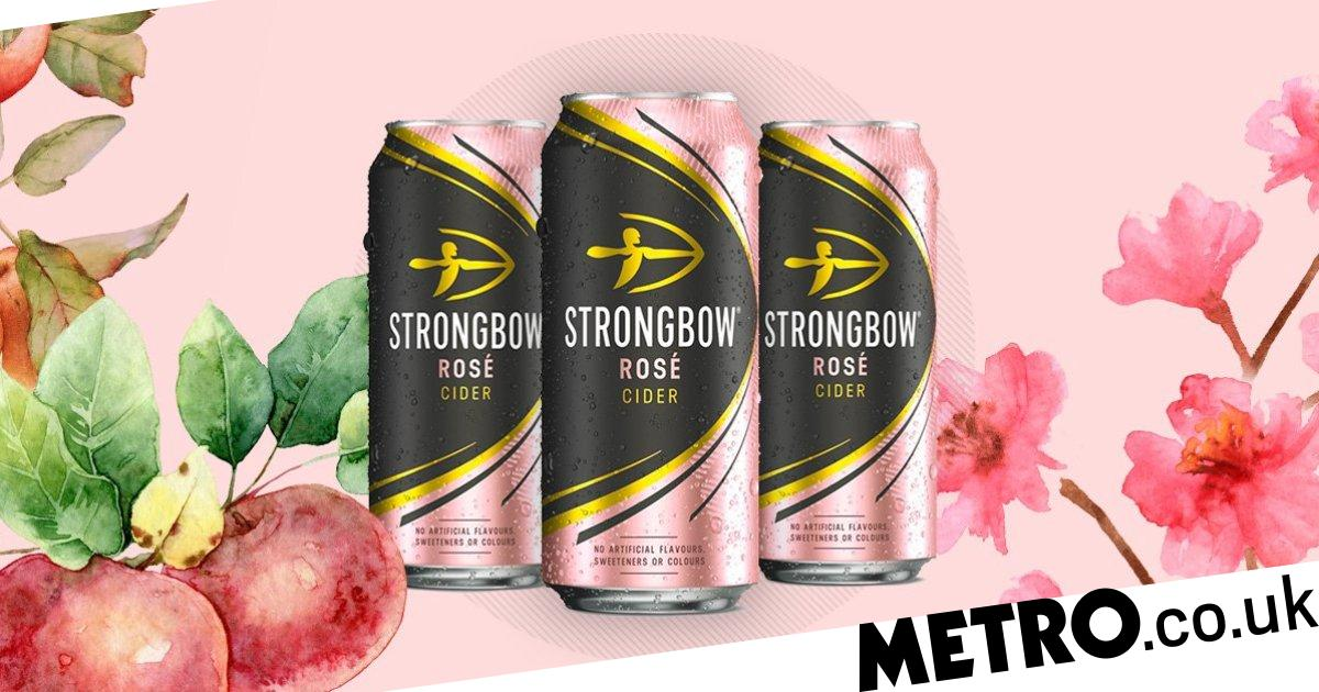 Strongbow launches a bougie rosé cider