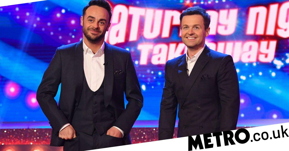 Ant and Dec's Saturday Night Takeaway replacing The Masked Singer after finale
