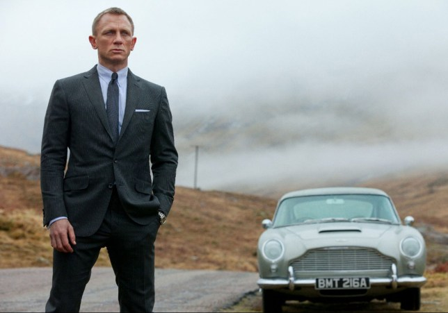 Editorial use only. No book cover usage. Mandatory Credit: Photo by Snap Stills/REX/Shutterstock (1921683n) Daniel Craig Skyfall - 2012