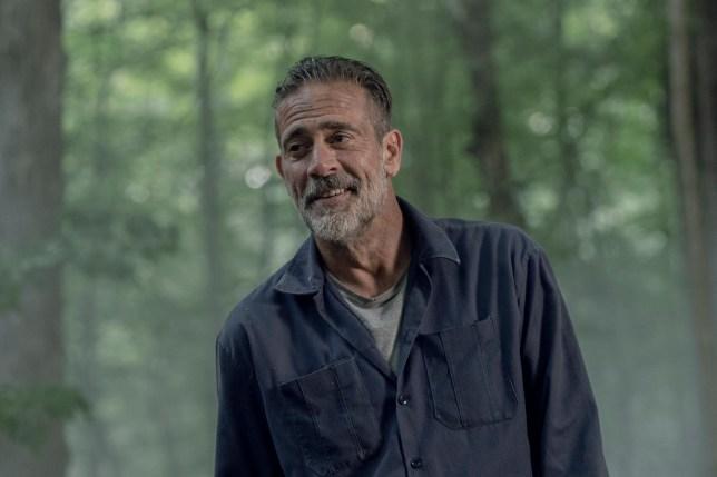 Jeffrey Dean Morgan as Negan - The Walking Dead _ Season 10, Episode 5 - Photo Credit: Jace Downs/AMC