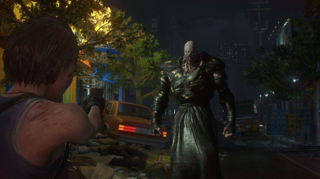 Resident Evil 3 remake screenshot