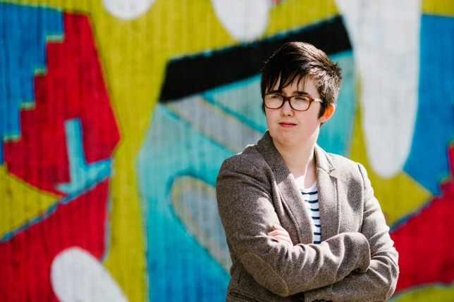 epa07515416 Belfast Journalist Lyra McKee poses outside the Sunflower Bar on Union Street in Belfast, Northern Ireland, Britain, 19 May 2017 (issued 19 April 2019). According to media reports, Lyra McKee was killed during riots in Londonderry (Derry) on 18 April 2019. Police Service of Northern Ireland said that McKee was allegedly shot while reporting on clashes with dissident republican rioters. EPA/JESS LOWE MANDATORY CREDIT: JESS LOWE EDITORIAL USE ONLY/NO SALES