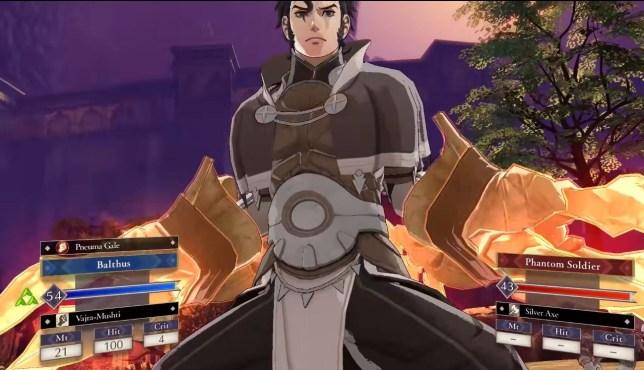 Fire Emblem: Three Houses - Cindered Shadows screenshot