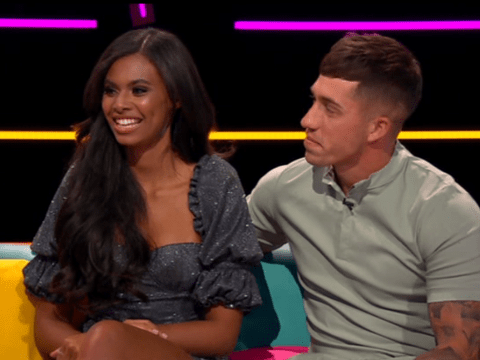 Love Island's Sophie Piper and Connor Durman reunite with a kiss as he promises to take her on a date